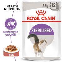 Hrana umeda Pisici Royal Canin Sterilised Gravy, 85 g