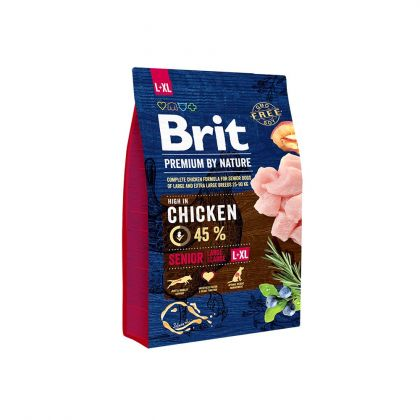 Brit Premium by Nature Senior L-XL, 3 Kg