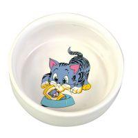 Castron Pisica Ceramica 0.3 l