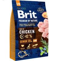 Brit Premium by Nature Senior S + M, 3 kg
