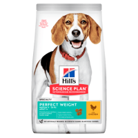 Hrana uscata pentru caini Hill's SP Canine Perfect Weight Adult Medium, 2 Kg