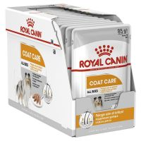 Pachet Royal Canin Coat Loaf, 12 plicuri x 85 g