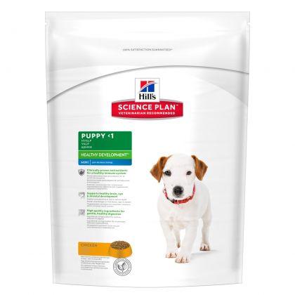 Hrana uscata pentru caini Hill's SP Canine Puppy Mini Breed Healthy Development cu Pui, 7.5 Kg
