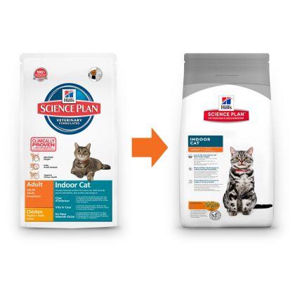 Hrana uscata pentru pisici Hill's SP Feline Adult Indoor cu Pui, 4 Kg