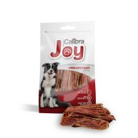 Recompensa pentru caini Calibra Joy Dog Snack Large Lamb Fillets, 80 g