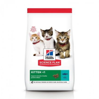 Hrana uscata pentru pisici Hill's SP Feline Kitten cu Ton, 1.5 Kg