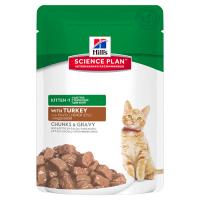 Hrana umeda pentru pisici Hill's SP Feline Kitten cu Curcan, 85g