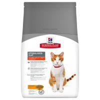 Hrana uscata pentru pisici Hill's SP Feline Young Adult Sterilised Cat cu Pui, 3.5 Kg