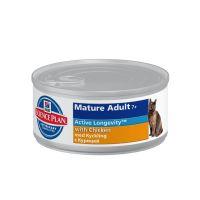 Hrana umeda pentru pisici Hill's SP Feline Mature Adult 7+ cu Pui, 85g