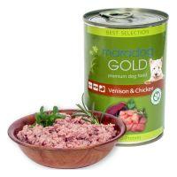 Hrana umeda pentru caini Maradog Gold Vanat si Pui, 400g