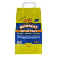 Nisip litiera pisici Maracat, 5 Kg