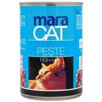 Hrana umeda pentru pisici Maracat cu Peste, 415g