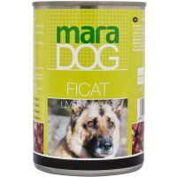 Hrana umeda pentru caini Maradog cu Ficat, 415 g