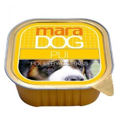 Hrana umeda pentru caini Maradog Pate cu Pui, 300g
