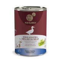 Hrana umeda pentru caini Equilibria Dog cu Carne de Rata, 410g