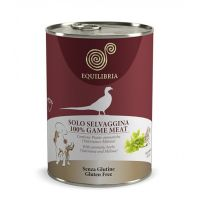 Hrana umeda pentru caini Equilibria Dog cu Carne de Vanat salbatic, 410g