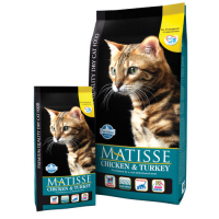 Hrana uscata pentru pisici Matisse Original cu Pui si Curcan, 10 Kg