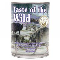 Hrana umeda pentru caini Taste of the Wild Sierra Mountain Canine, 390g