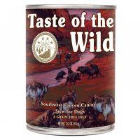 Hrana umeda pentru caini Taste of the Wild Southwest Canyon Canine, 390g