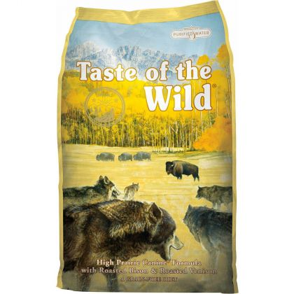 Hrana uscata pentru caini Taste of the Wild High Prairie Canine Formula, 13 Kg