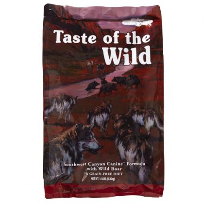 Hrana uscata pentru caini Taste of the Wild Southwest Canyon Canine Formula, 13 Kg