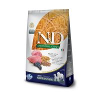 N&D Low Grain Adult Medium si Maxi, Miel si Afine, 12 kg
