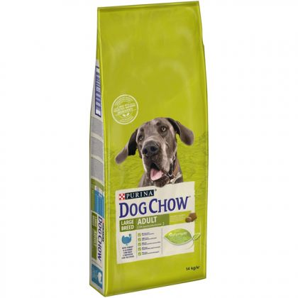 Dog Chow Adult Large Breed Curcan, 14 Kg