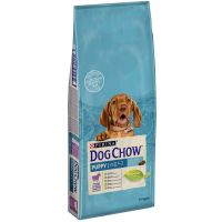 Dog Chow Puppy cu Miel, 14 Kg