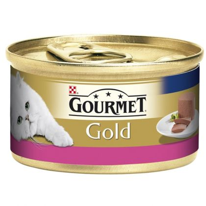 Hrana umeda pentru pisici Conserva Gourmet Gold Mousse Vita, 85g