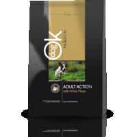 Hrana uscata pentru caini OK Dog Passion Adult Action, 12.5 Kg