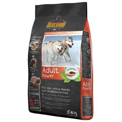 Hrana uscata pentru caini Belcando Adult Power, 5 Kg
