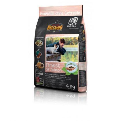 Hrana uscata pentru caini Belcando Finest Grain Free cu Somon, 4 Kg