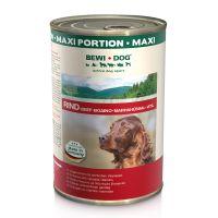 Conserva pentru caini Bewi Dog cu Vita, 1200 g