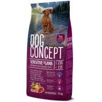 Hrana uscata pentru caini Dog Concept Adult Sensitive, 15 Kg