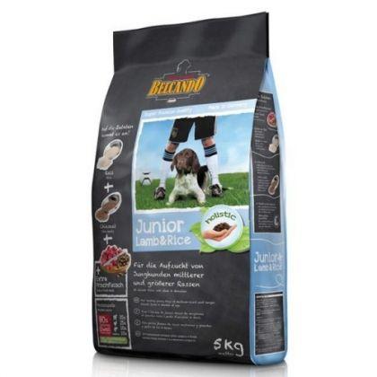 Hrana uscata pentru caini Belcando Junior cu Miel si Orez, 5 Kg