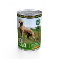 Conserva pentru caini Dog Concept cu Pasare, Vanat si Morcovi, 415 g