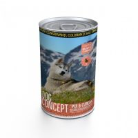 Conserva pentru caini Dog Concept cu Curcan si Pui, 1240 g