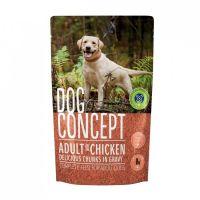 Hrana umeda pentru caini Dog Concept Plic Pui, 100 g