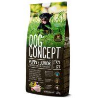 Hrana uscata pentru caini Dog Concept Puppy & Junior, 15 Kg