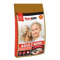 Nutraline Dog Adult Mini, 8 Kg