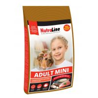 Hrana uscata pentru caini Nutraline Dog Adult Mini, 8 Kg