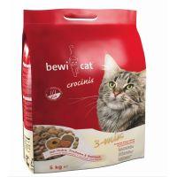 Hrana uscata pentru pisici Bewi Cat Crocinis, 5 Kg