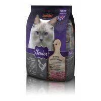 Hrana uscata pentru pisici Leonardo Senior Pasare, 400 g