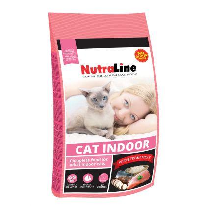 Hrana uscata pentru pisici Nutraline Cat Indoor, 10 Kg