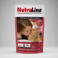 Hrana pisici Plic Nutraline Classic Vita, 100 g