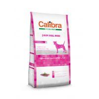 Hrana uscata pentru caini Calibra Dog Grain Free Junior Small Breed cu Rata, 7 Kg