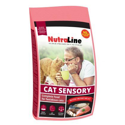 Hrana uscata pentru pisici Nutraline Cat Sensory, 10 Kg