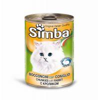 Hrana umeda pentru pisici Simba Cat Conserva Iepure, 415 g
