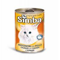 Hrana umeda pentru pisici Simba Cat Conserva Pui, 415 g
