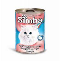 Hrana umeda pentru pisici Simba Cat Conserva Ton, 415 g